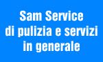 logo_sam service di pulizia